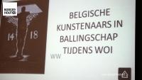 """Geslaagde lezing """"Belgische Kunst in Ballingschap"""""""