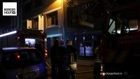 Eén lichtgewonde bij brand in Kroonstraat in Borgerhout