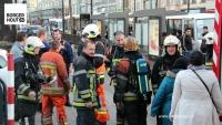 Brandweer rukt uit voor stofwolken op Turnhoutsebaan in Borgerhout