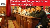 Districtsraad Borgerhout in teken van de jeugd