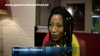 Fatoumata Diawara in De Roma