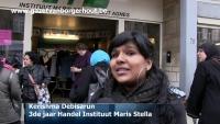 Leerlingen Instituut Maris Stella willen beter klimaat