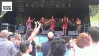 De Chileense meisjes van La Banda en Flor