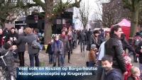 Veel volk en Reuzen op Borgerhoutse Nieuwjaarsreceptie