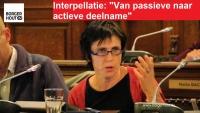 """Interpellatie : """"Van passieve naar actieve deelname"""""""
