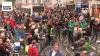 Fietsprotestactie op Turnhoutsebaan in Borgerhout is groot succes