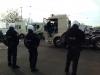Foorkramers blokkeren toegangswegen Antwerpen