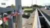 Ladderwagen gaat door reling van brug aan Turnhoutsebaan en stort neer op Antwerpse Ring