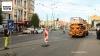 Tramleiding afgerukt door ontspoorde tram aan Stenenbrug