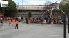 Terlopleinfeest met voetbal in Borgerhout