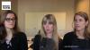 Turtelboom praat met drie vrouwelijke kandidaat deurwaarders